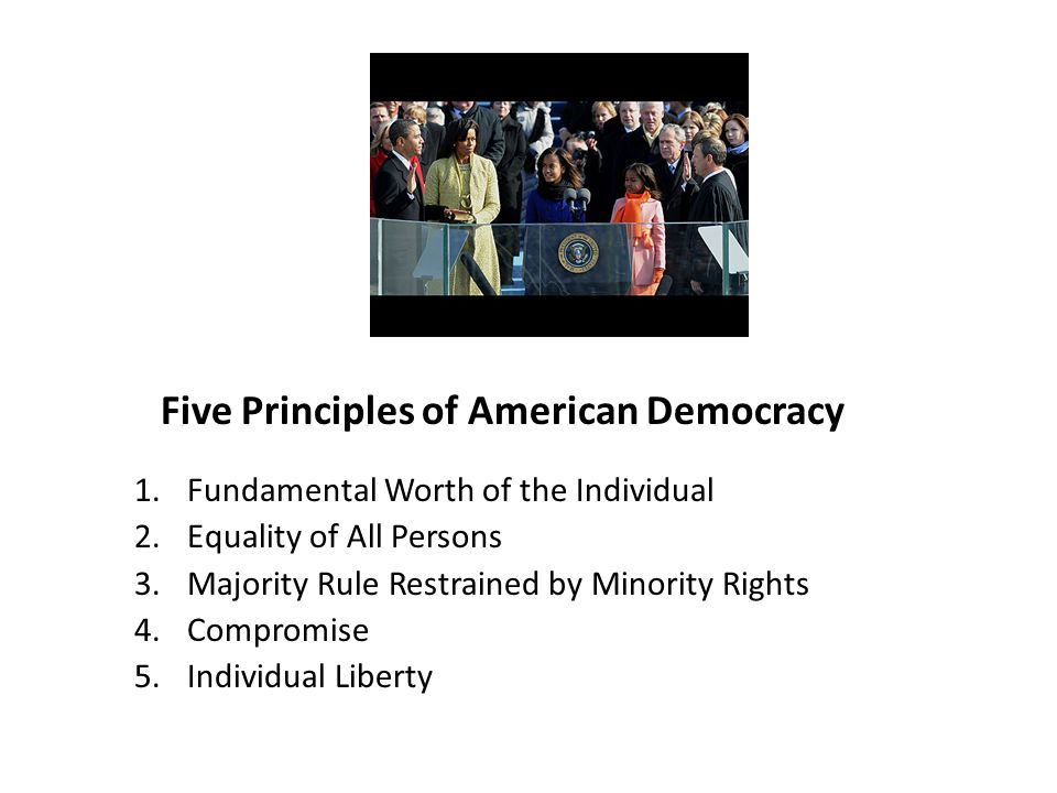an analysis of the concept and principles of democracy An external limit on the authority of democracy is a limit that arises from principles that are independent of the values or requirements of democracy furthermore, some limits to democratic authority are rebutting limits, which are principles that weigh in the balance against the principles that support democratic decision making.