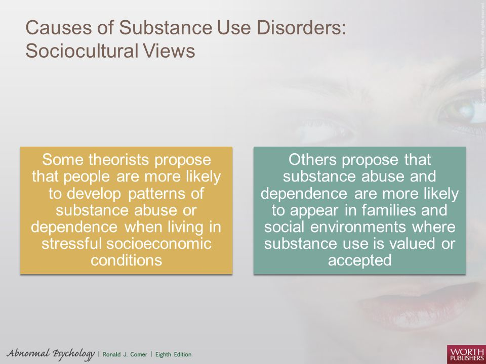 sociocultural perspective of substance abuse Depression treatments: what are the most effective approaches the sociocultural depression treatments usually include interpersonal psychotherapy and couples therapy.