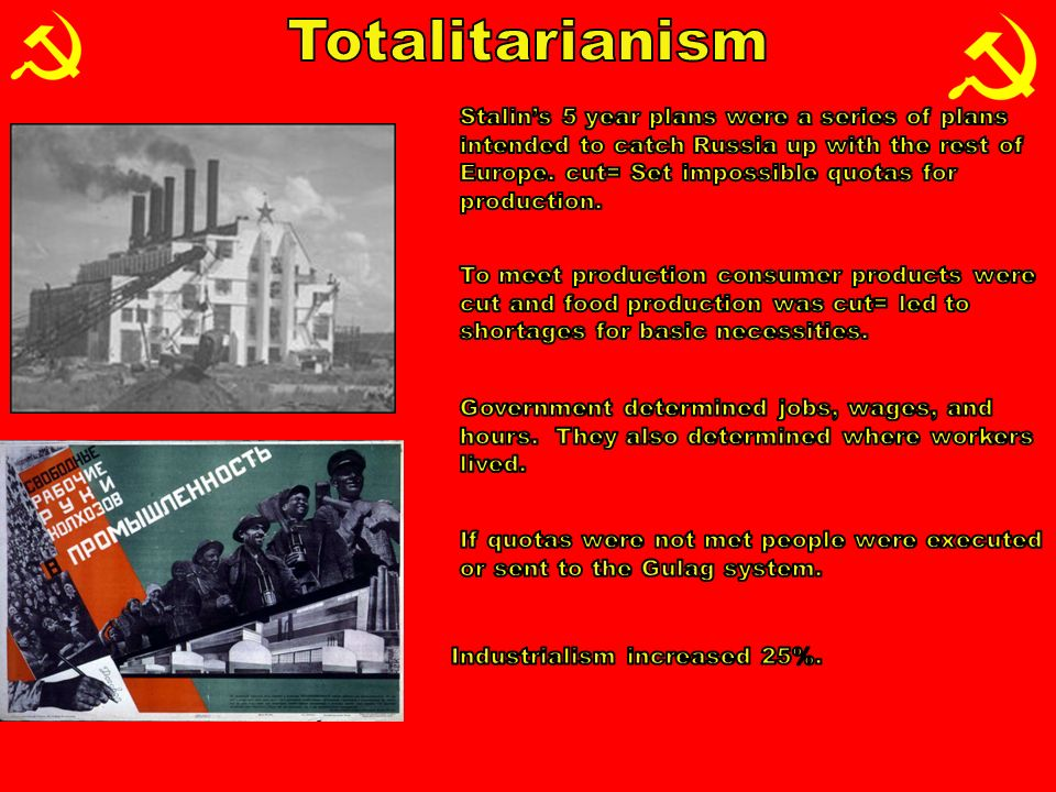 totalitarianism and purge increase stalin Transcript of totalitarianism: joseph stalin this is not what stalin did stalin was a totalitarian soviet leadership was confident that the replacement of individual peasant farms by collective ones would immediately increase the food supply for urban population.