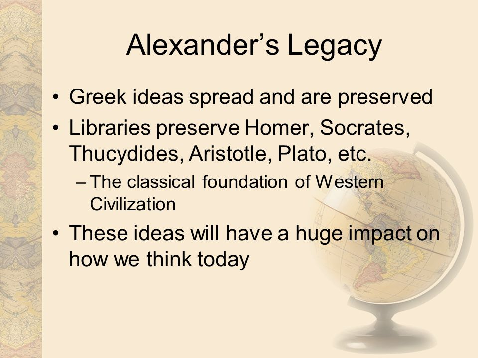 an introduction of legacies of the romans the greeks and the hebrews to the world Ancient greece is the most influential civilizations in the world they created everything what we believe in today and what we do today language, typography, philosophy, architecture, history, science, geography to astronomy, art, beauty and much more 53000 words in this world is greek of origin.