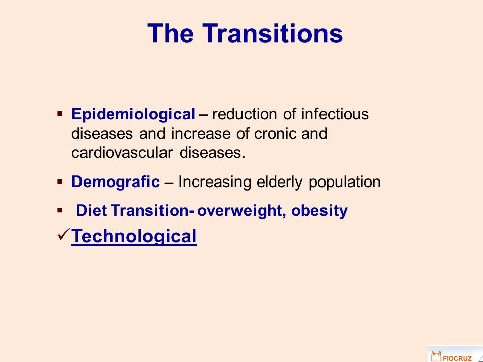 The Transitions Technological