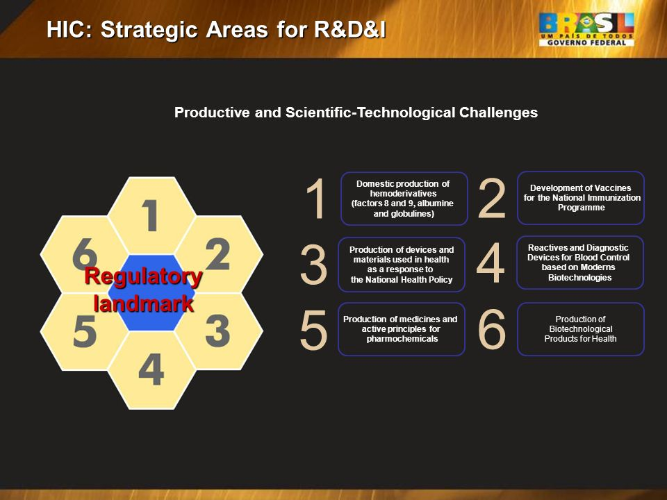 HIC: Strategic Areas for R&D&I
