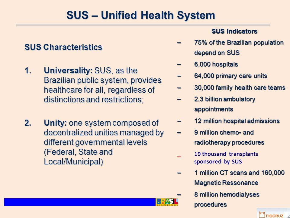 SUS – Unified Health System