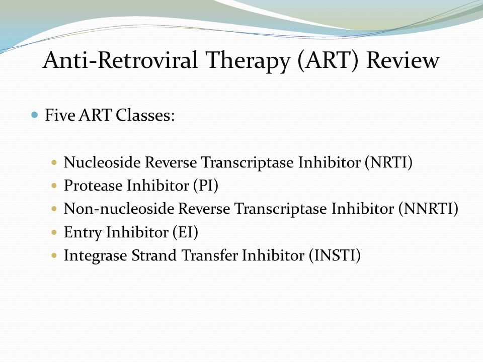 anti retroviral treatment of hiv aids While hiv treatment has led to dramatic improvements in the health of people with hiv/aids, there is some uncertainty concerning how long these benefits will last the patients who have been treated the longest have been exposed to any antiretroviral drugs for at most 20 years, and to combination highly active antiretroviral therapy (haart) for .