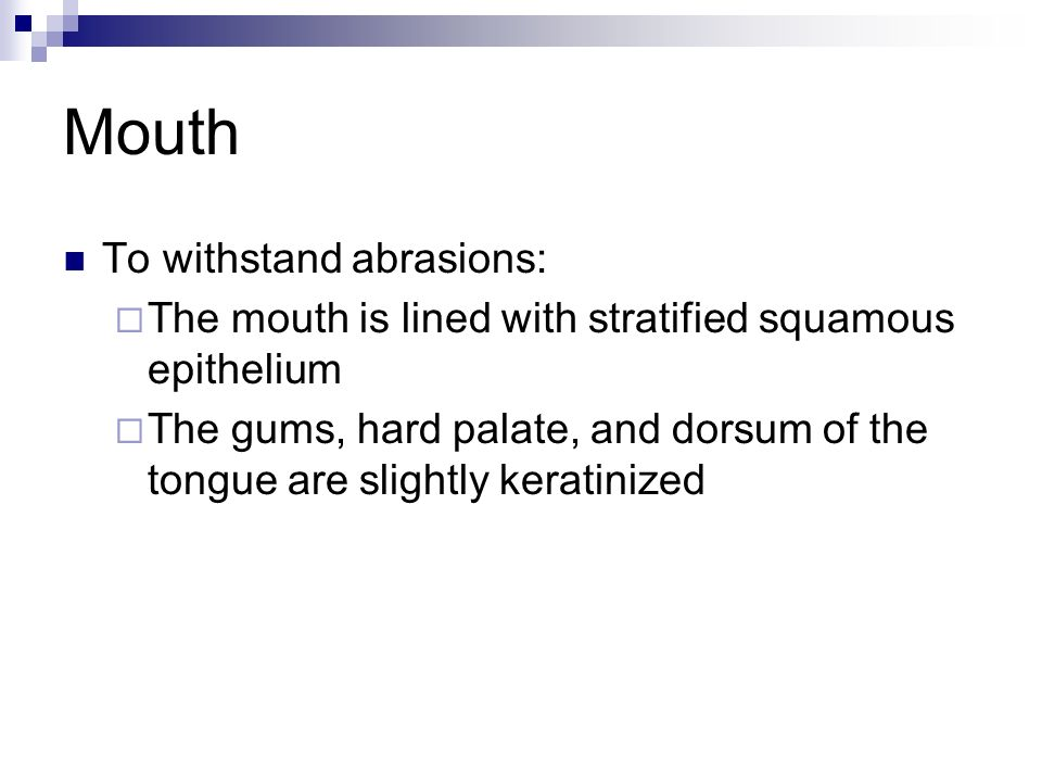 Mouth Abrasions 117