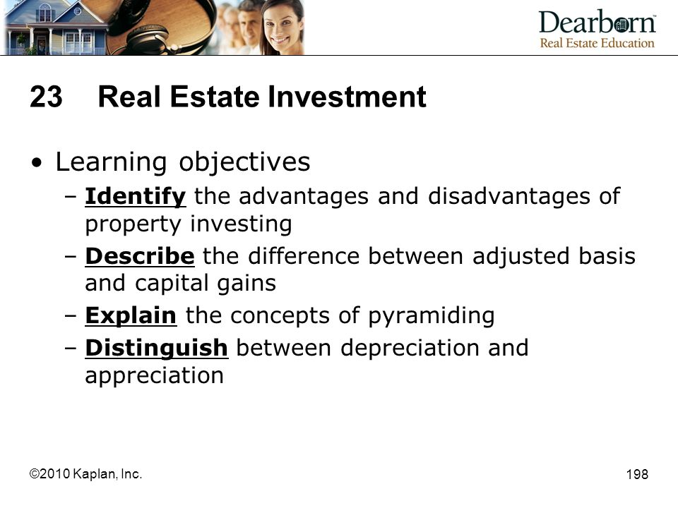 23 Real Estate Investment