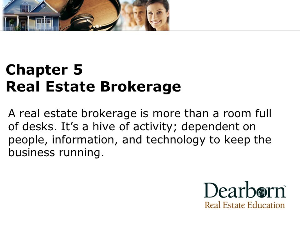Chapter 5 Real Estate Brokerage