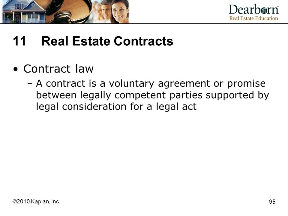 11 Real Estate Contracts Contract law