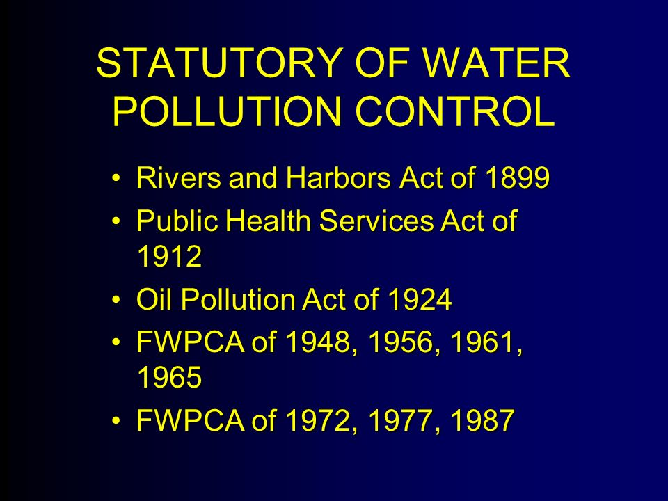 control of pollution act 1974 pdf