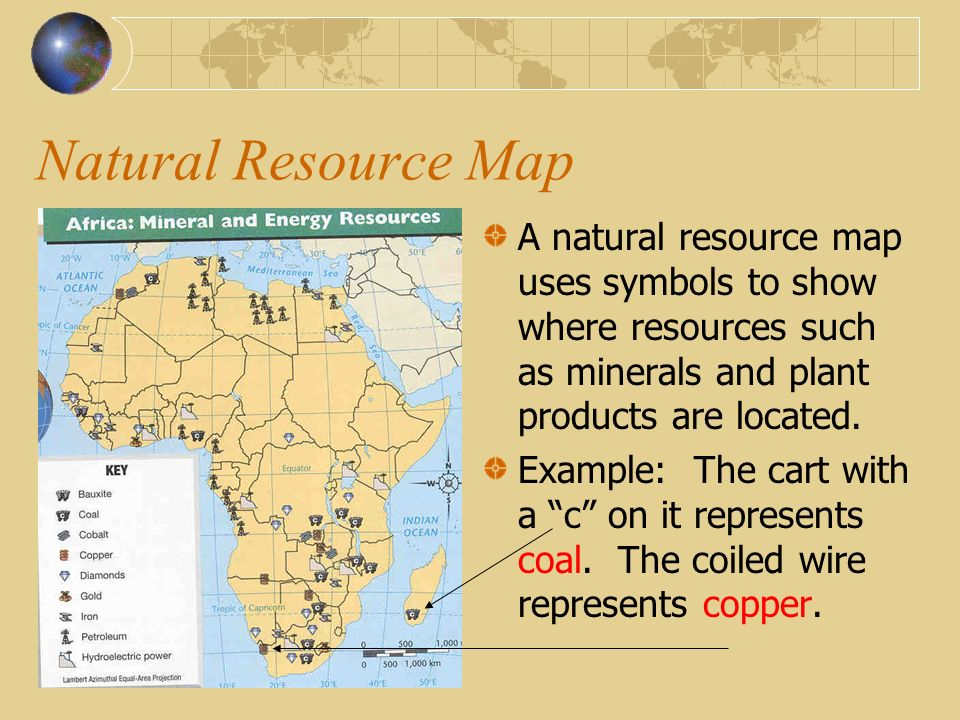 Map Essentials Ppt Video Online Download - Us natural resources map