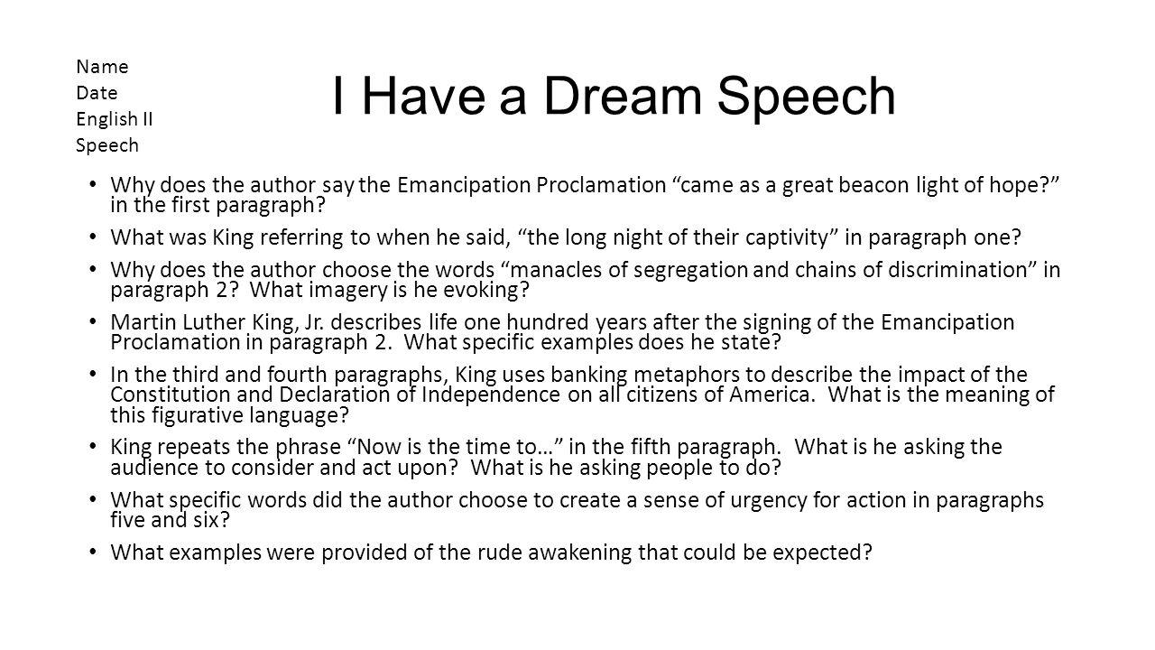 I have a dream speech date in Melbourne