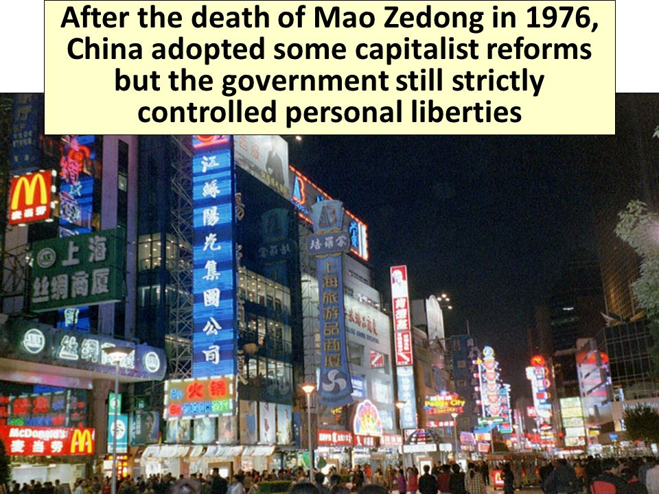 the reforms that happened after the death of mao zedong The death of communist china's founding father mao zedong 40 years ago this week was akin to the demise of an emperor and helped pave the no tears for mao: 1976 death an imperial opened the way for massive economic reforms that would lift vast numbers out of poverty and end.