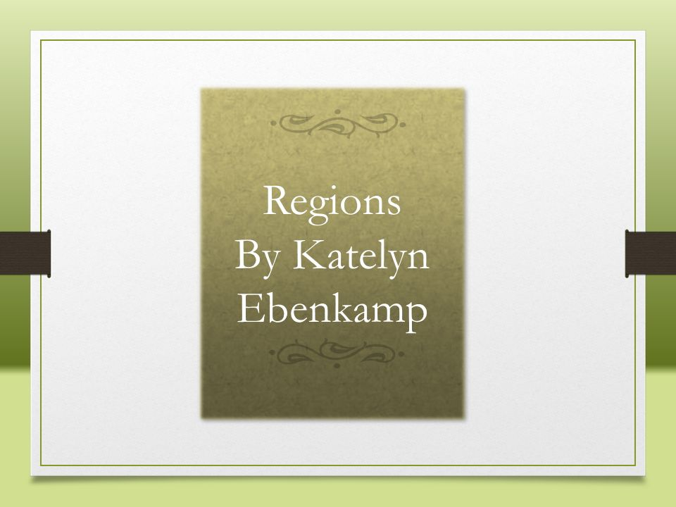Regions By Katelyn Ebenkamp Picture background with textured caption