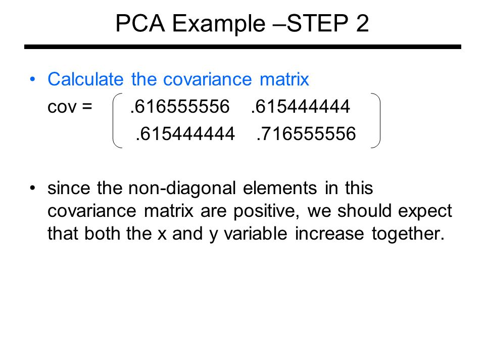 Calculate stock covariance matrix - Trading how to read charts