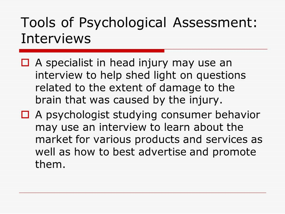 interview for psycology The clinical interview:the intake / admission interview, structured interview clinical psychology social sciences psychology natural sciences biology .