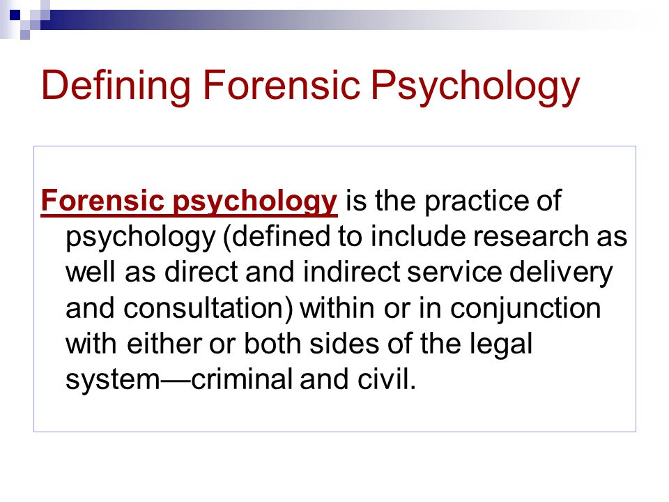 Introduction to Psychology and Law: Civil and Criminal ...