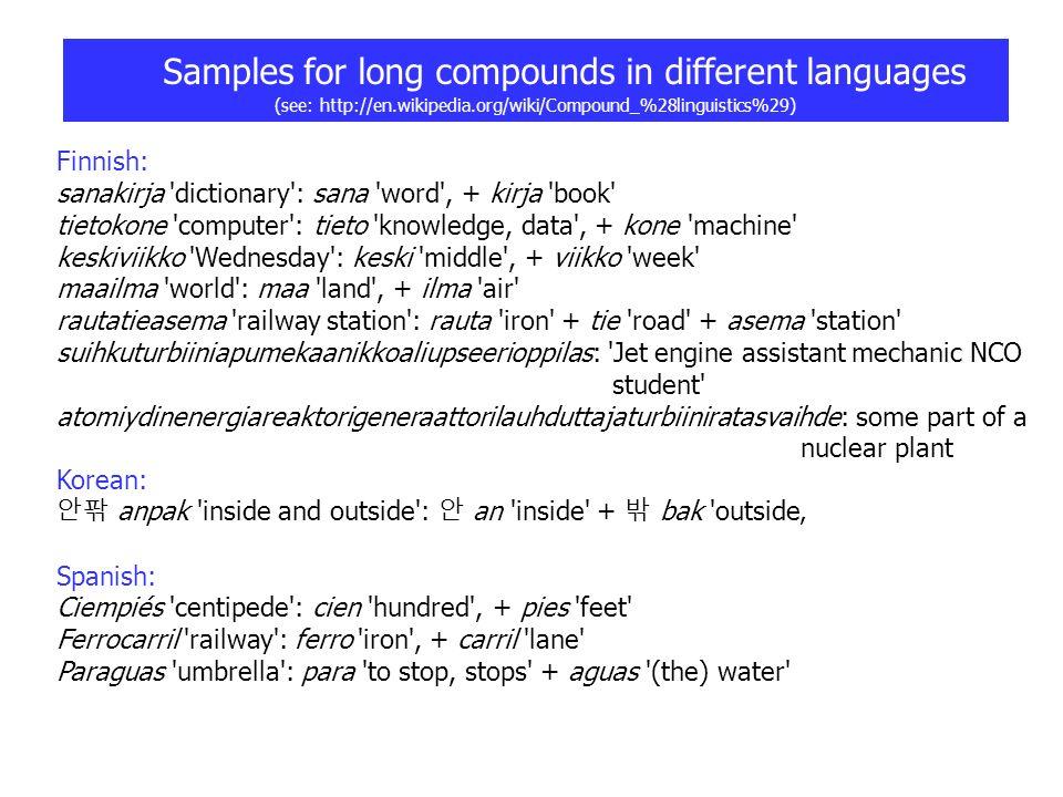 - Natural Language Systems - Harriehausen