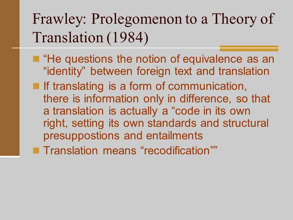 theories of translation We offer an academic publishing program in linguistics, translation studies and terminology, psychology, philosophy, literary studies, art and art history in addition we offer several online resources.