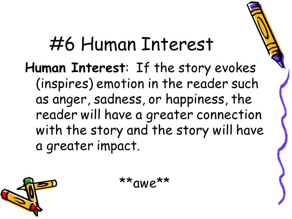 a human interest story