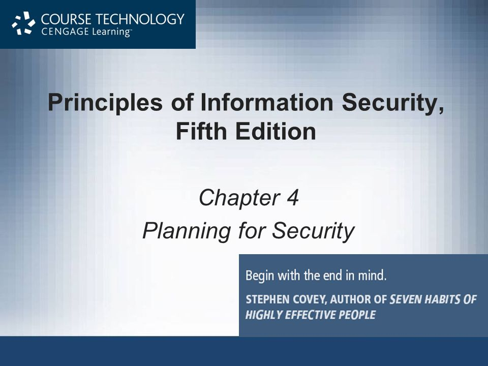 chapter 1 information security Provides guidance to help it and security professionals  isaca has designed  this publication, cobit® 5 for information security (the 'work'),  chapter 1.