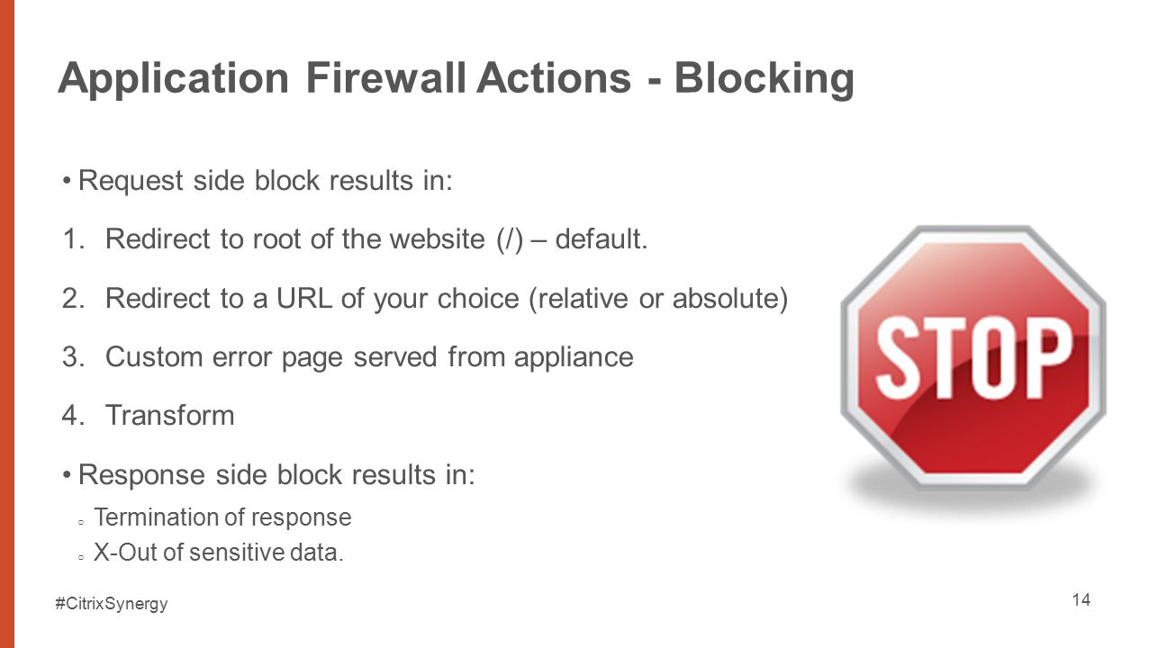 how to use firewall to block an application