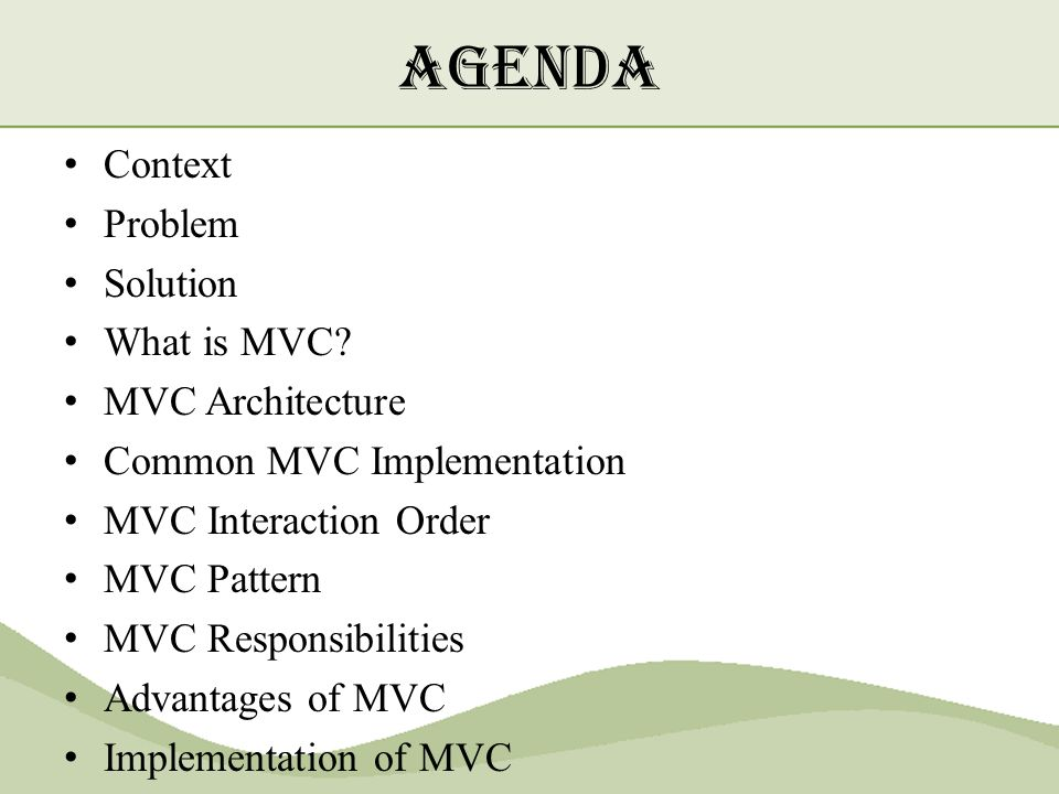 mvc pattern and implementation in java - ppt download