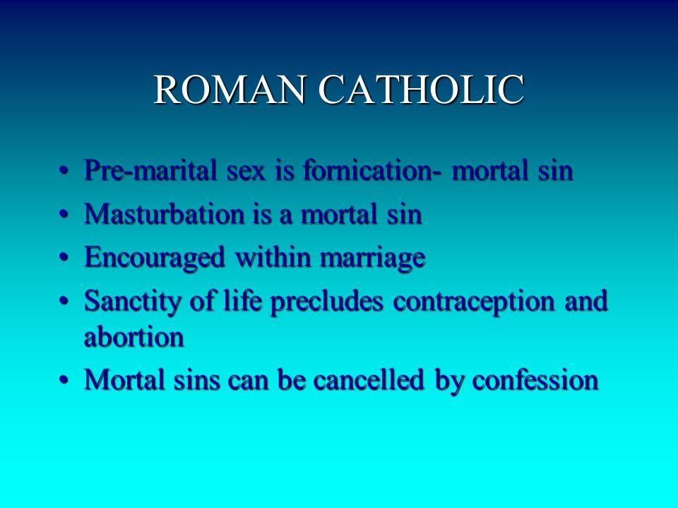 Is Masturbation A Mortal Sin 80