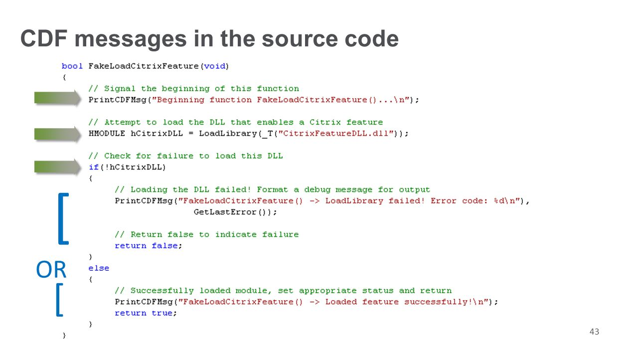 Open A Check Cdf Messages In The Source Code Write How To Void