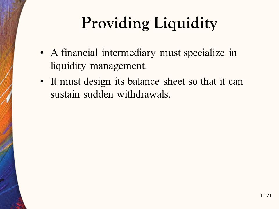 show how a financial intermediary can A financial intermediary can be the go-between to bring together an investor and an investment product, a stopgap for temporary placement of funds or an institution that provides a financial service to the consumer.