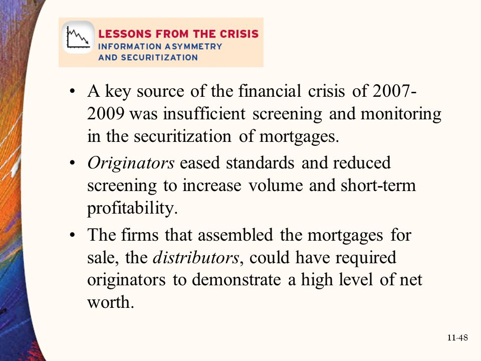 the key to resolving the financial crisis of 2007 The great recession and its aftermath 2007– the 2007-09 economic crisis was deep and protracted enough to become known as the great recession and was followed by what was, by some measures, a long but unusually slow recovery.