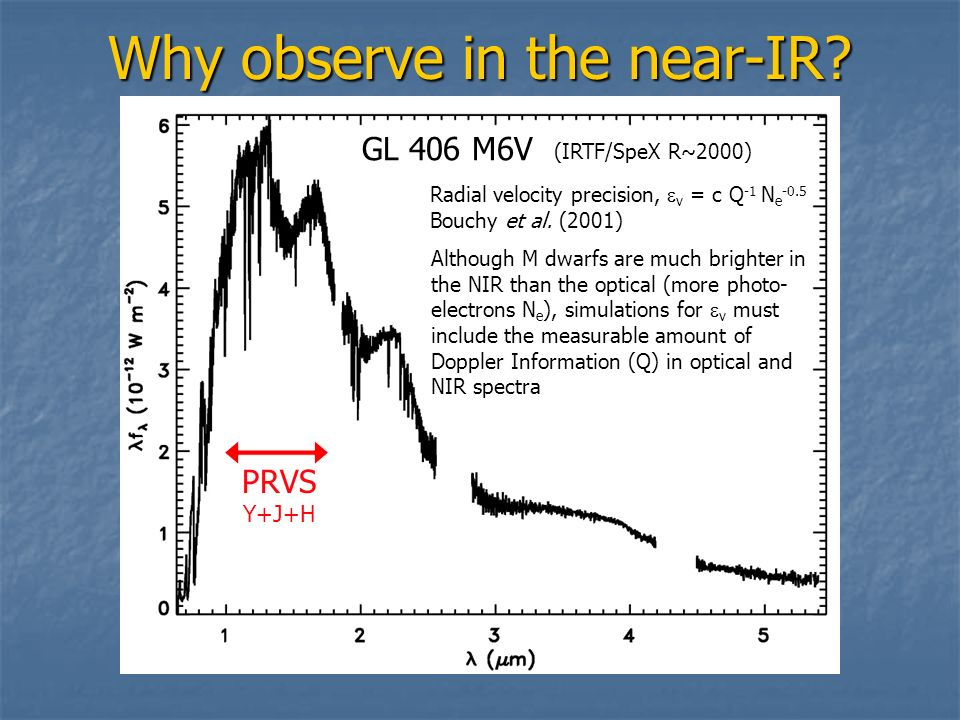 Why observe in the near-IR