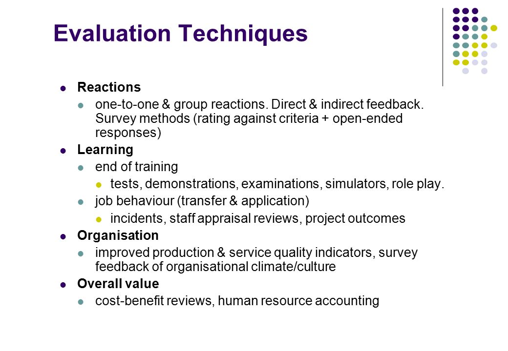 project appraisal techniques Project appraisal & analysis  it provides you with the latest tools and techniques to manage project risks and uncertainties to ensure profit margins and .