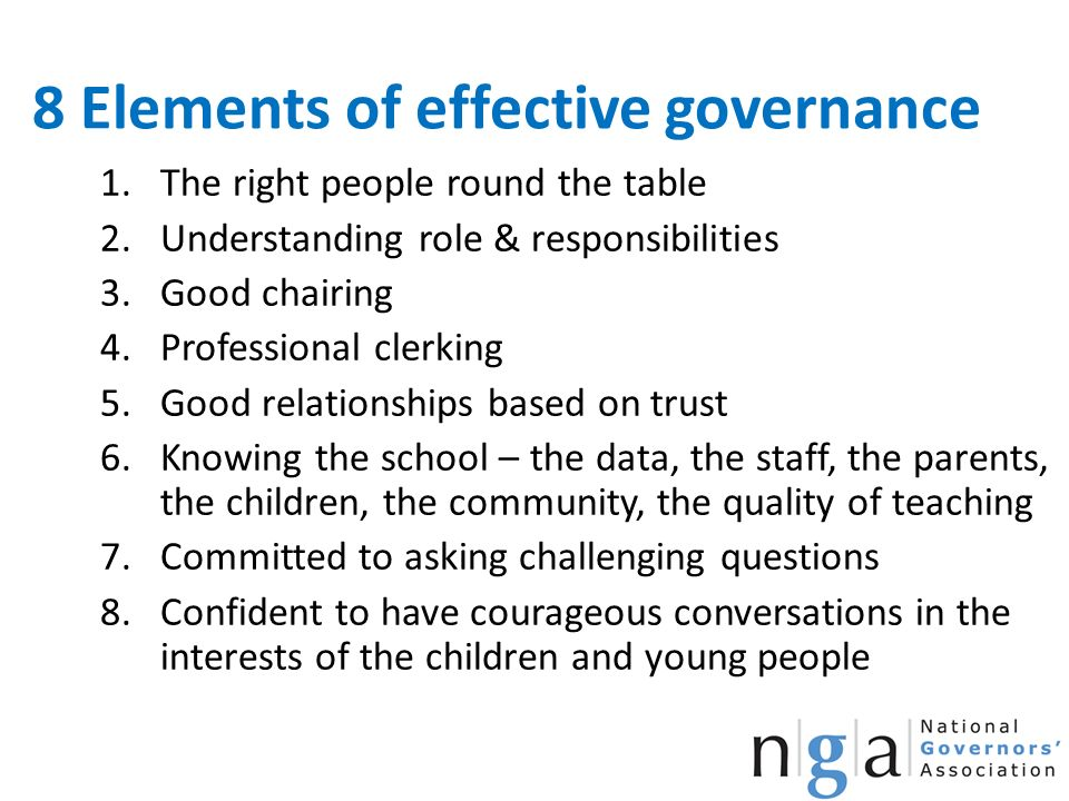 elements of good governance pdf