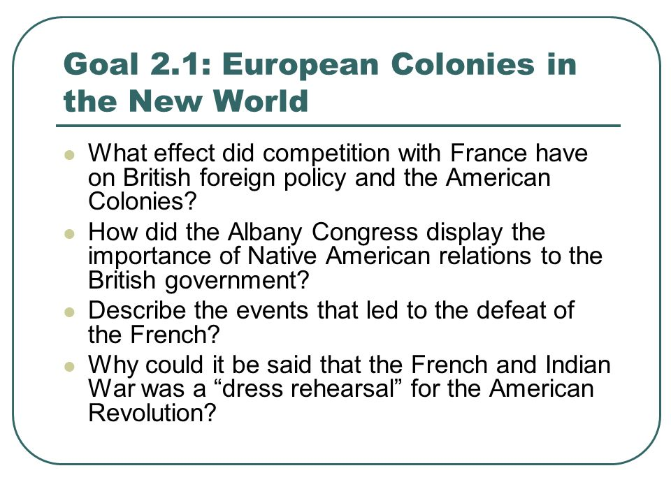 impact of french and indian war on colonies england relationship