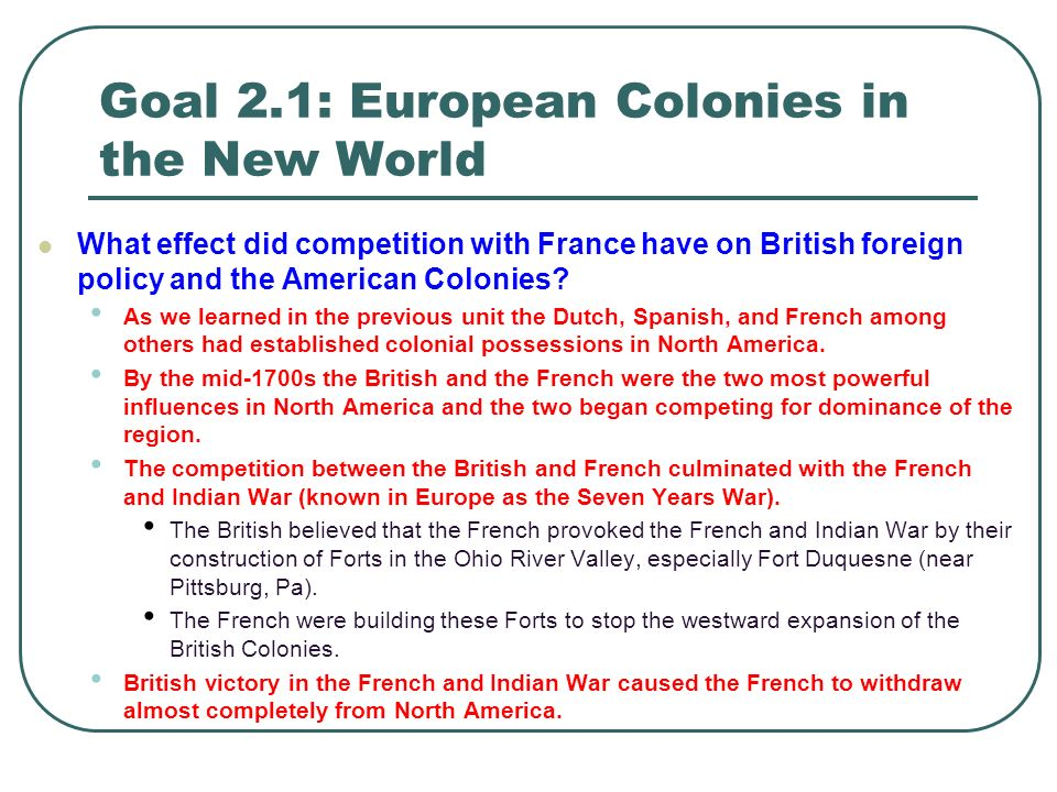Colonization of the new world essay