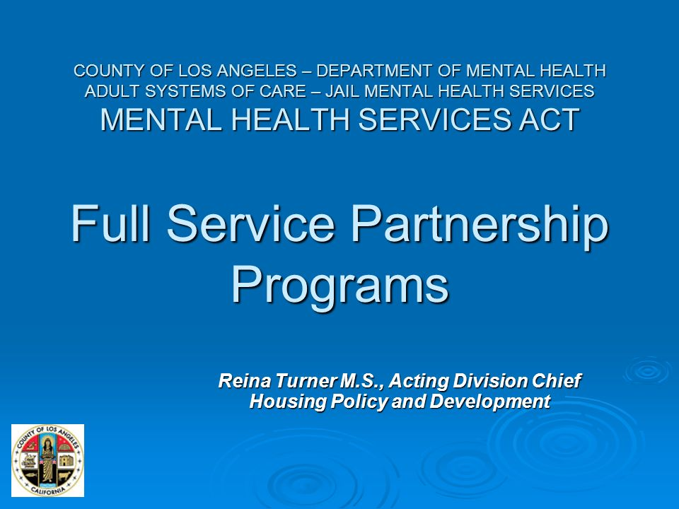Placer county adult mental health services