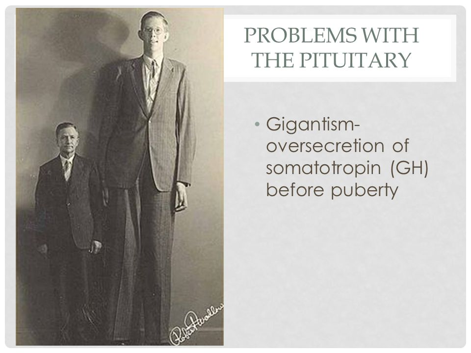Problems with the Pituitary