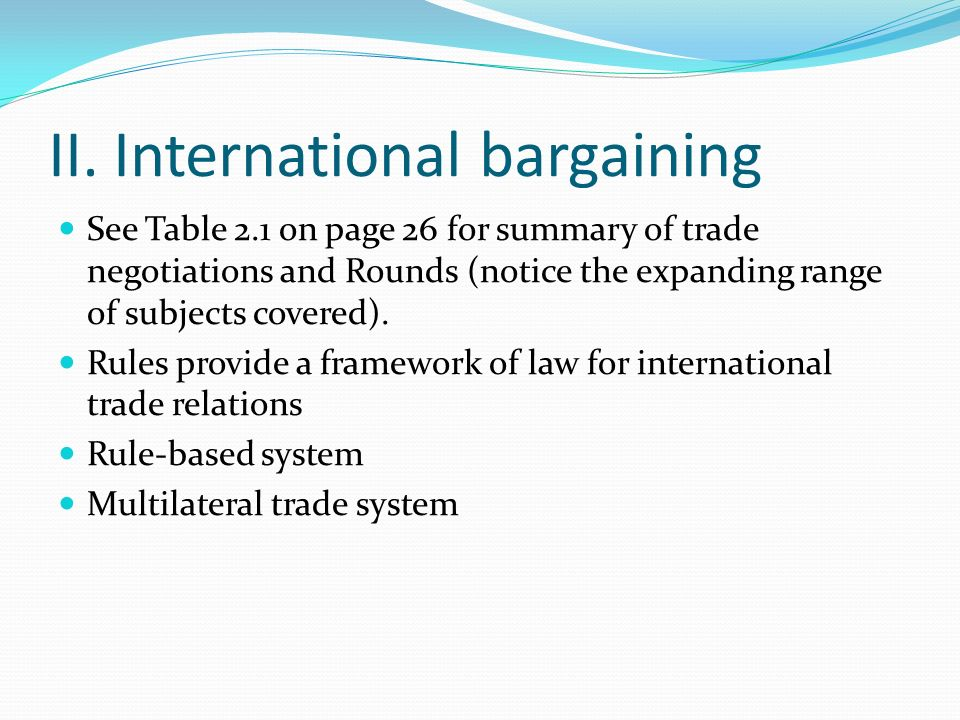 Abstract of foreign trading system in ooad
