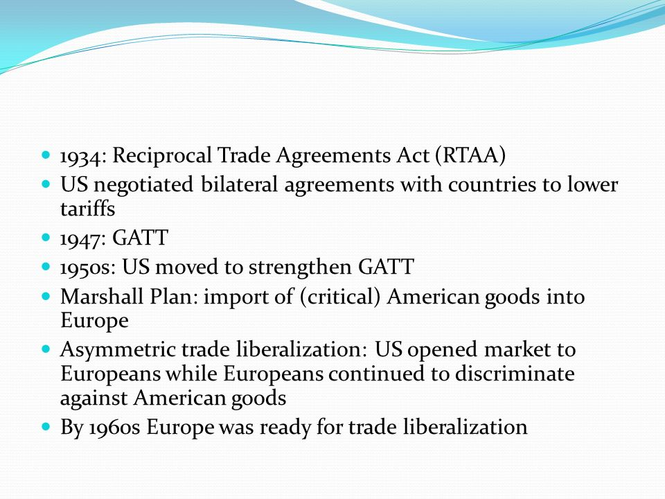 Reciprocal Trade Agreement Law and Legal Definition