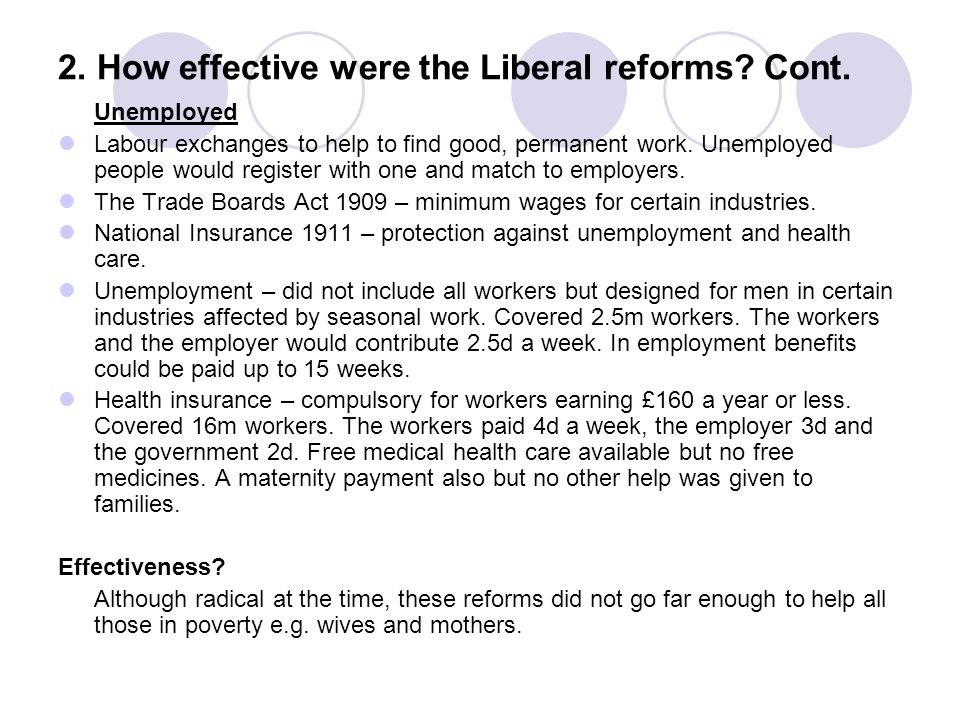 how successful were the labour reforms How effective were the labour reforms in creating a welfare state background  labour were extremely successful in tackling unemployment along with the nhs, this is probably most.