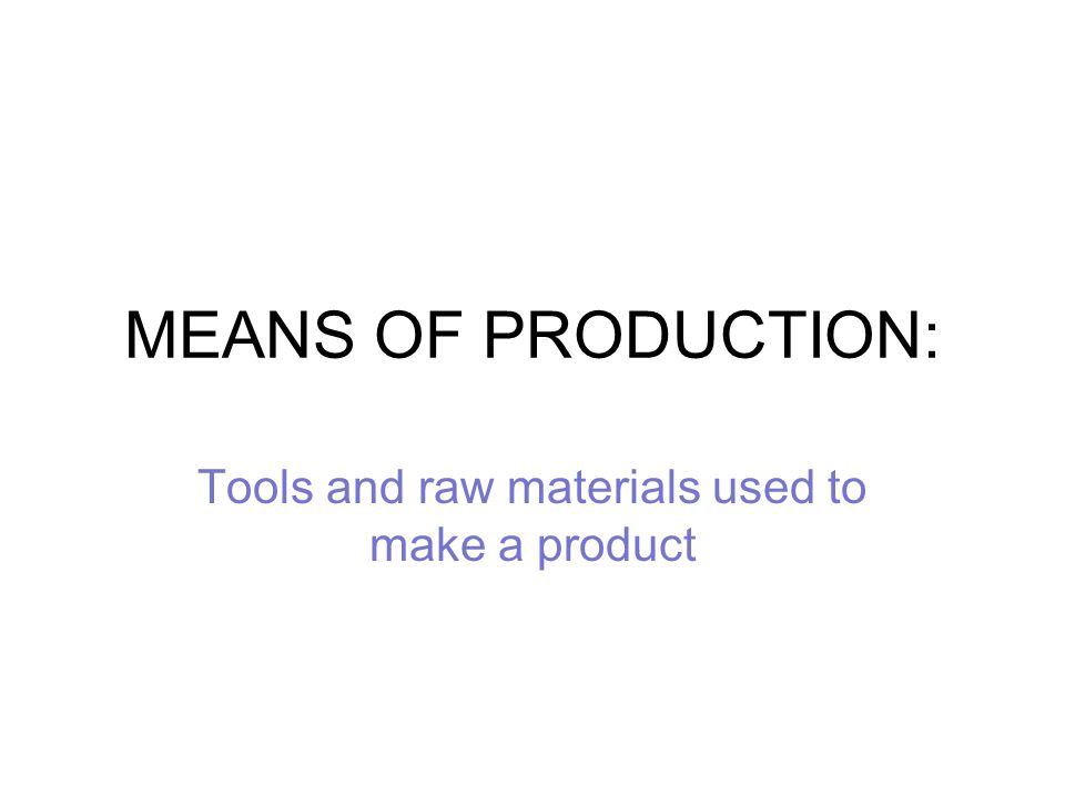 Tools and raw materials used to make a product ppt video for Waste material to useful products
