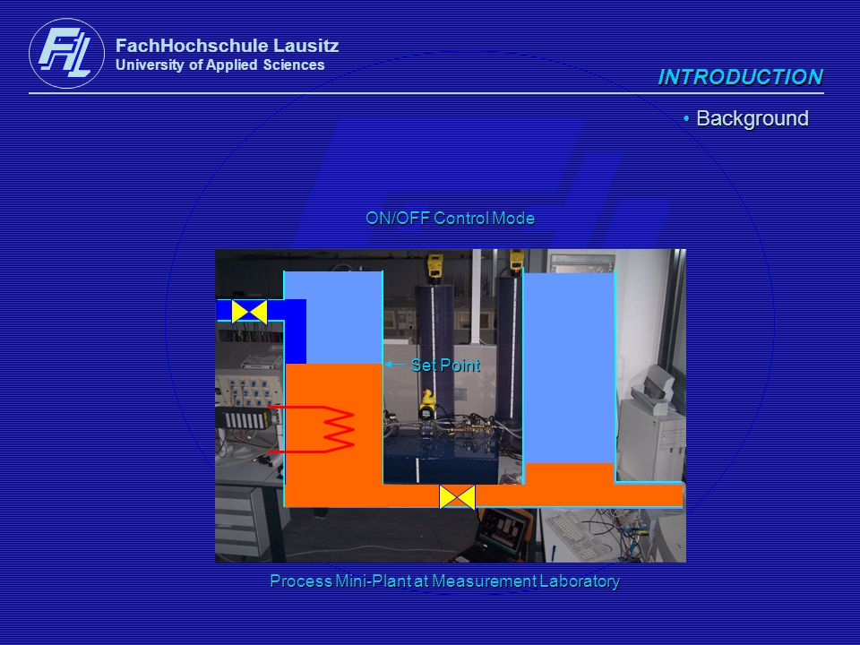 INTRODUCTION Background FachHochschule Lausitz ON/OFF Control Mode