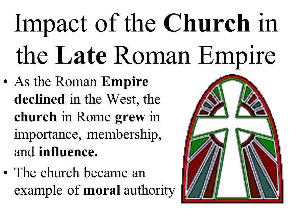 role of christianity in the fall of the roman empire essay