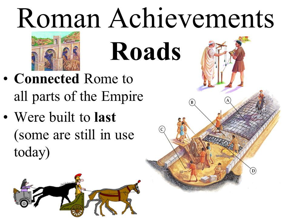 the roman empire its many achievements Fall of the roman empire there were several reasons for the fall of the roman empire each one intertweaved with the other many even blame the initiation of.