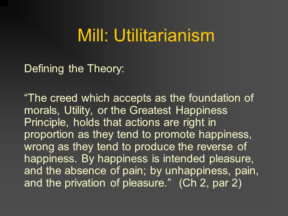 Philosophical Ethics: Rule and Act Utilitarianism