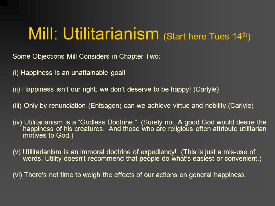 Rawls and utilitarianism