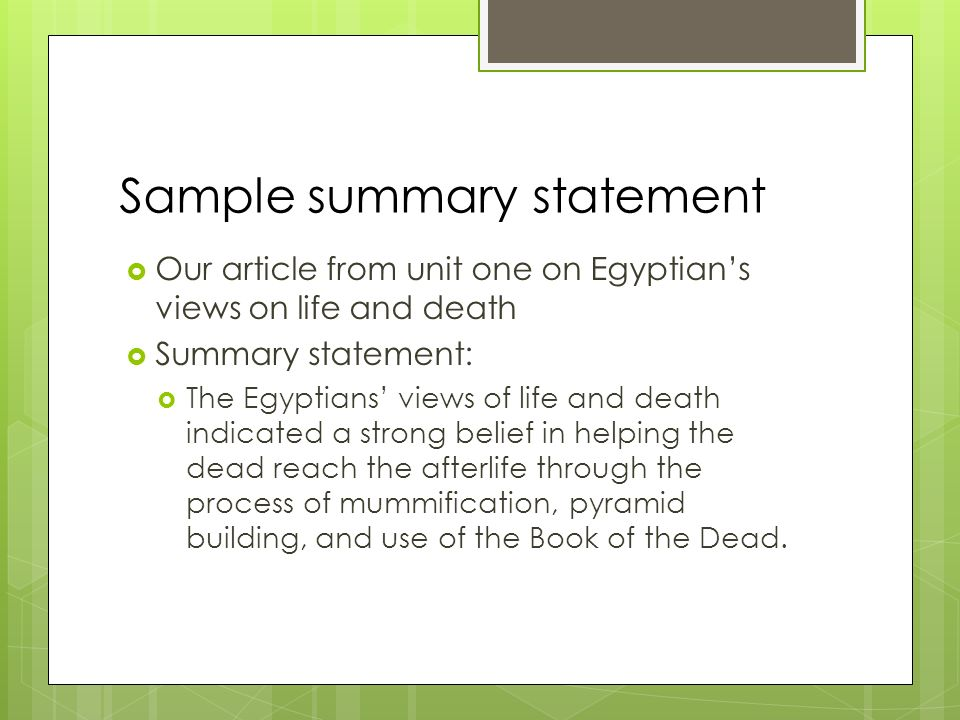 World history 10 1 do now why do we believe what we for Death summary template