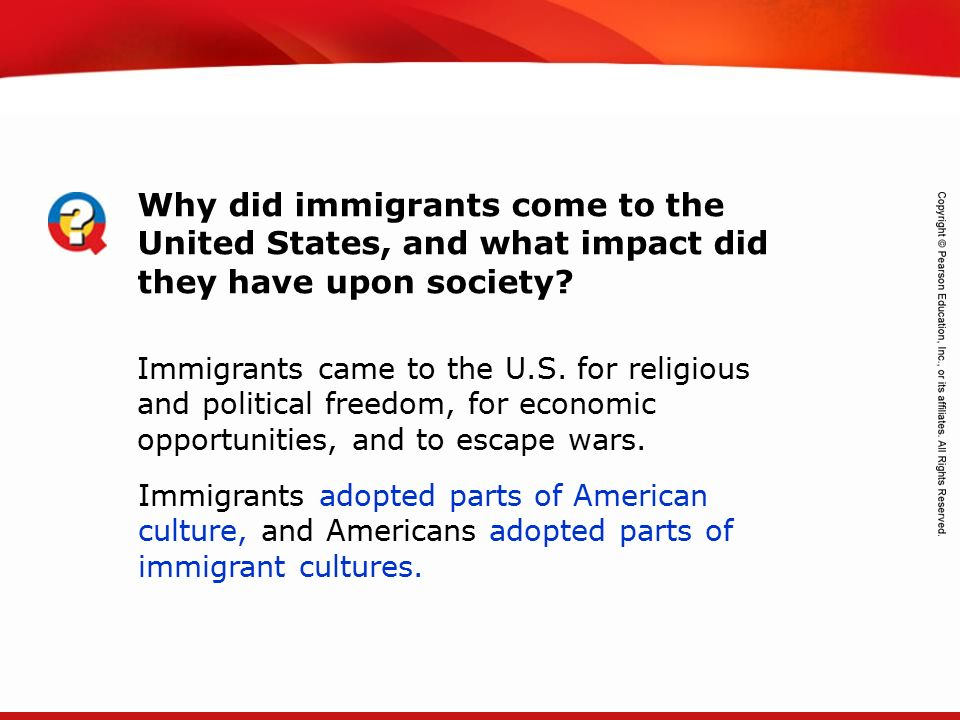 the cultural challenges of immigration in the united states 1 the challenges of immigration to race-based diversity policies in the united states mary c waters and zoua mvang the united states prides itself on being a.