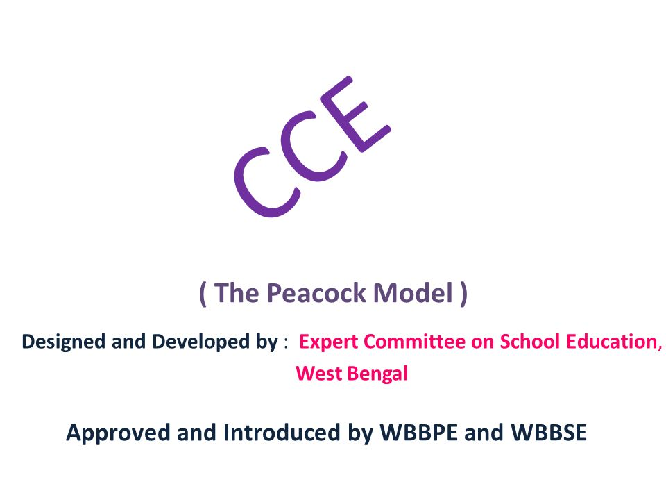 Approved and Introduced by WBBPE and WBBSE