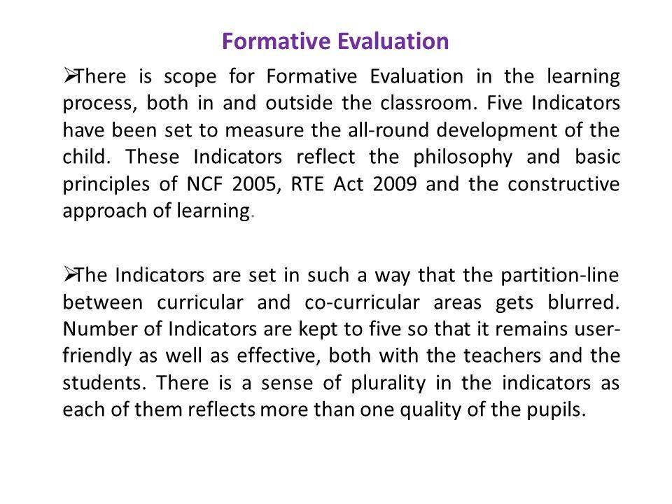 Formative Evaluation